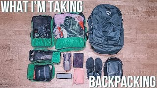 What I'm Taking 2 Months Backpacking (Osprey Farpoint 40)