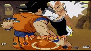 Dragon Ball Dark Sayan Latino Vegeta vs Goku