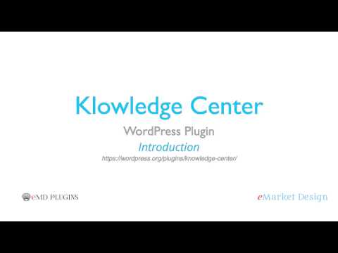 Knowledge Center WordPress
