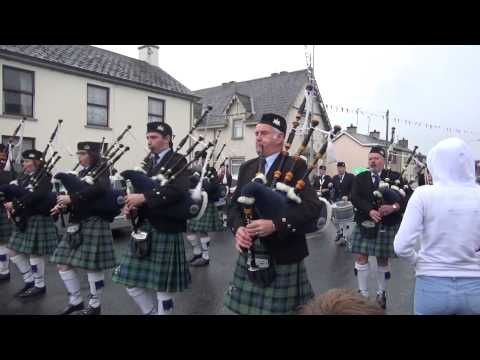 Cavanaleck Pipe Band @ Brookeborough District Parade 2015