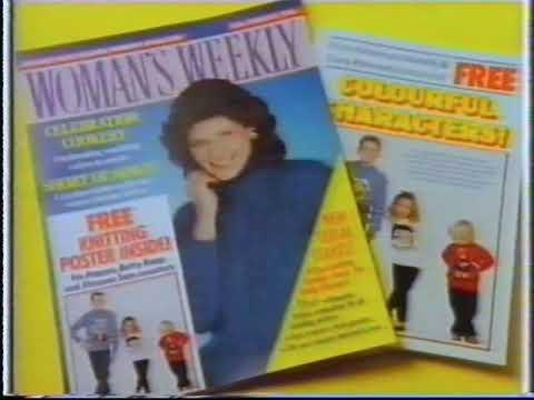 Woman's Weekly magazine advert 1989