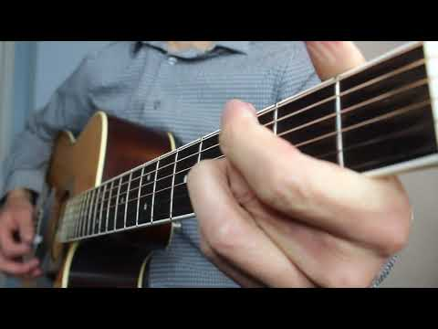 Drunk Girl - Chris Janson | Acoustic Guitar Cover