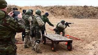 Спецназ - соревнования по практической стрельбе