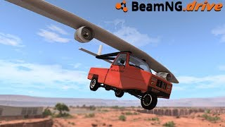 BeamNG.drive - FLYING CAR