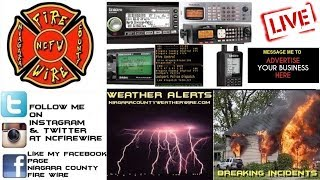 10/16/18 AM Niagara County Fire Wire Live Police & Fire Scanner Stream