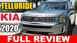 All-New 2020 Kia Telluride - Kia's at it's finest! | Full Review | Live Road Test