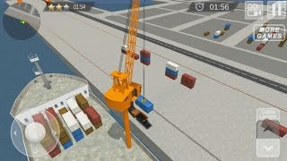 Cargo Ship Manual Crane 17 - Android Gameplay #2