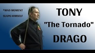 Tony Drago goes mad. German Masters Q v Alan McManus