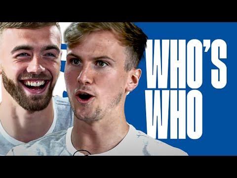 """Who's a """"young Bob Marley""""? Calum Chambers & Rob Holding play Who's Who"""