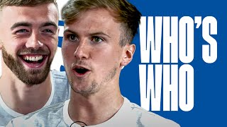 "Who's a ""young Bob Marley""? Calum Chambers & Rob Holding play Who's Who"