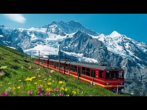 Awesome View Of Jungfrau - Switzerland.