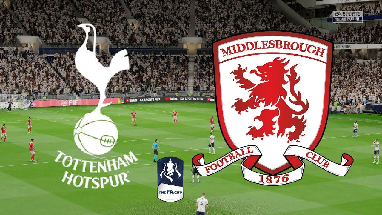 Fa Cup  Rd Round Replays Tottenham Vs Middlesbrough