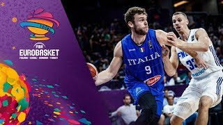 Finland v Italy - Full Game - Round of 16 - FIBA EuroBasket 2017