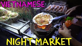 Vietnamese PIZZA! Mekong River Night Market in Can Tho VIETNAM thumbnail