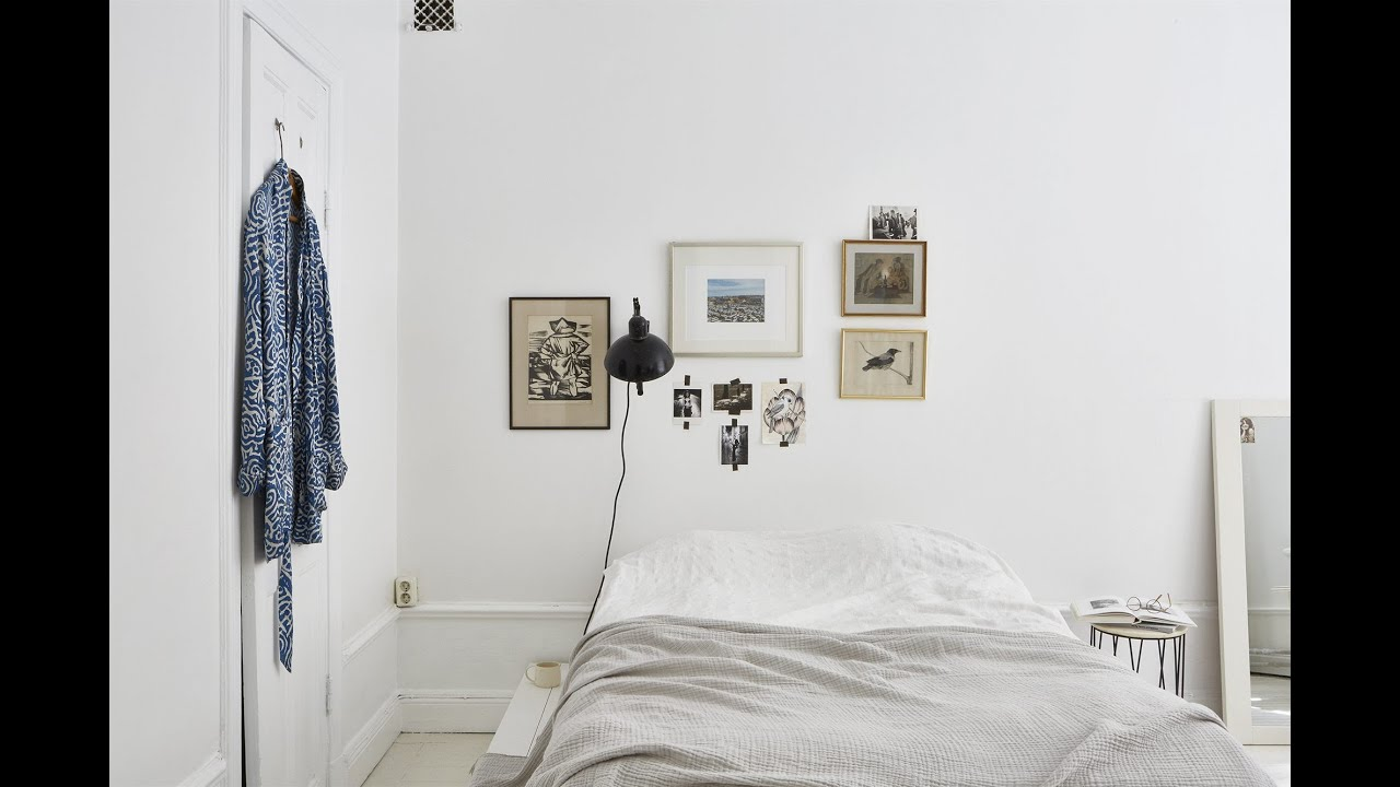 Tour White Minimalist Studio Apartment