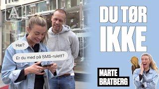 Du Tør Ikke: Mads Hansen Vs Marte Bratberg