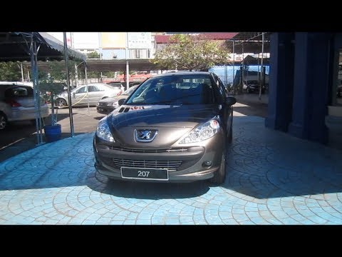 2010 Peugeot 207 Sedan 1.6 Start-Up and Full Vehicle Tour