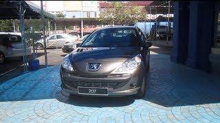2010 Peugeot 207 Sedan 1.6 Start-Up and Full Vehicle Tour