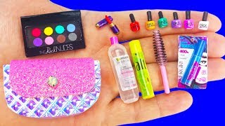 18 DIY MINIATURE MAKEUP REALISTIC HACKS AND CRAFTS !!!