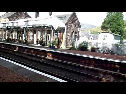 Dalmally Station, Oban Branch, West Highland Line