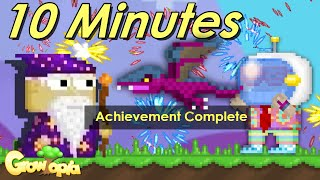 Getting DRAGON in 10 Minutes ! (Violet Protodrake) || Growtopia