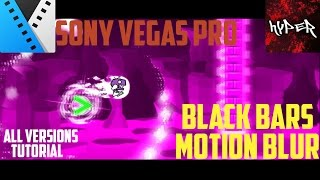 In this video I'm showing you how to get black bars on the top and bottom of your video for montages.