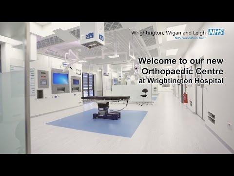 New Orthopaedic Centre at Wrightington Hospital