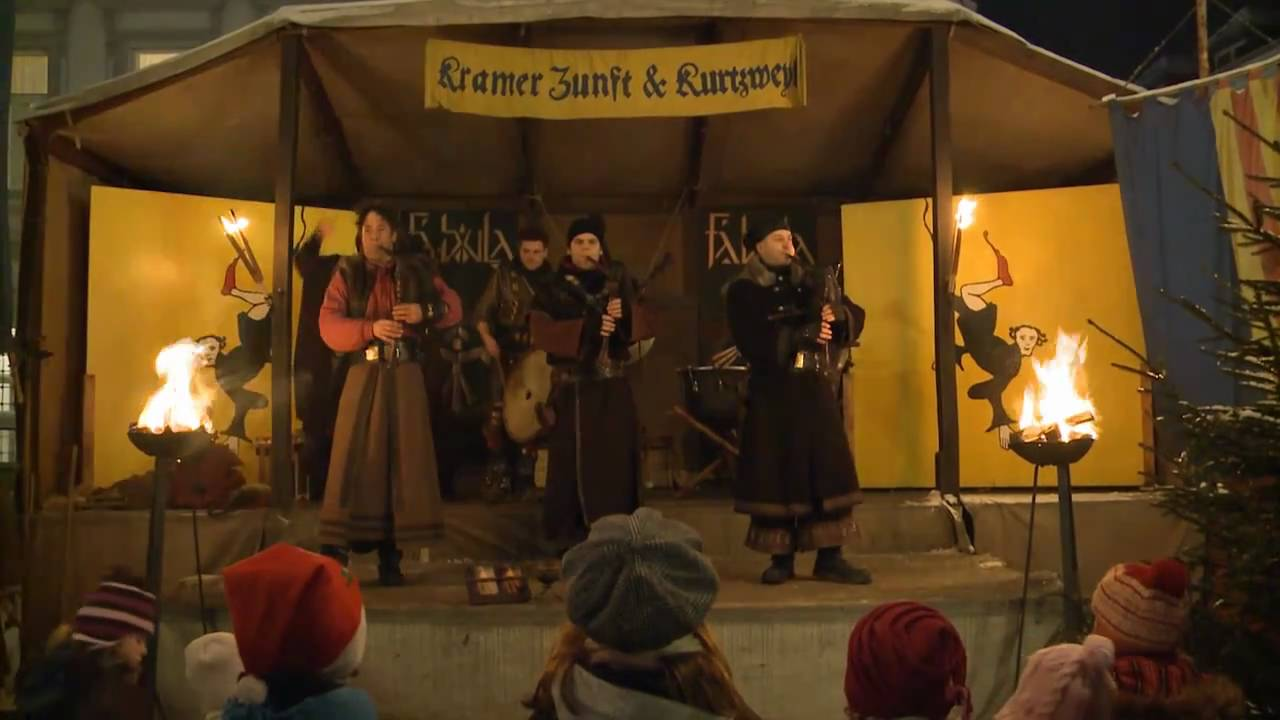 Mittelalterlicher Weihnachtsmarkt.Mittelalterlicher Weihnachtsmarkt Siegburg 2010