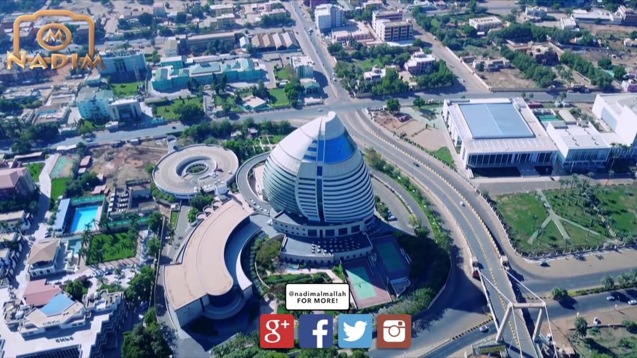 Khartoum - Sudan الخرطوم - السودان من السماء