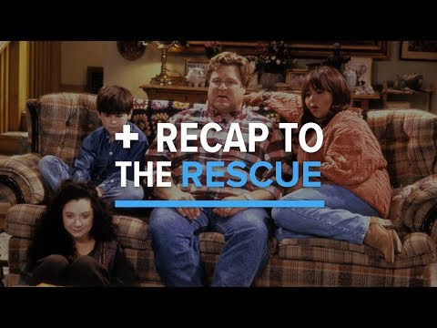 Roseanne (Seasons 1 - 9) - Recap To The Rescue