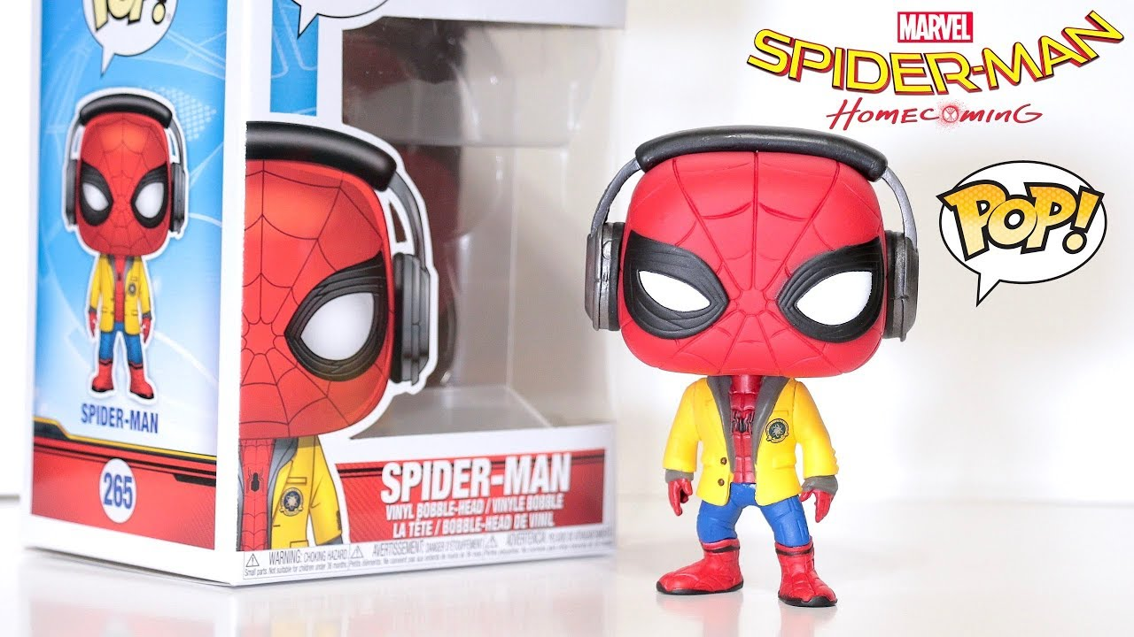 Spider Man With Headphones Funko Pop Review Spider Man Homecoming