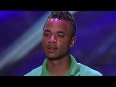 Owning the Moment - X Factor USA 2013 Audition - Wesley Mountain Wanted New Season 3