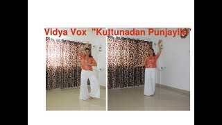 Vidya Vox | Kuttunadan Punjayila English Remix #danceforfitnesswithpooja