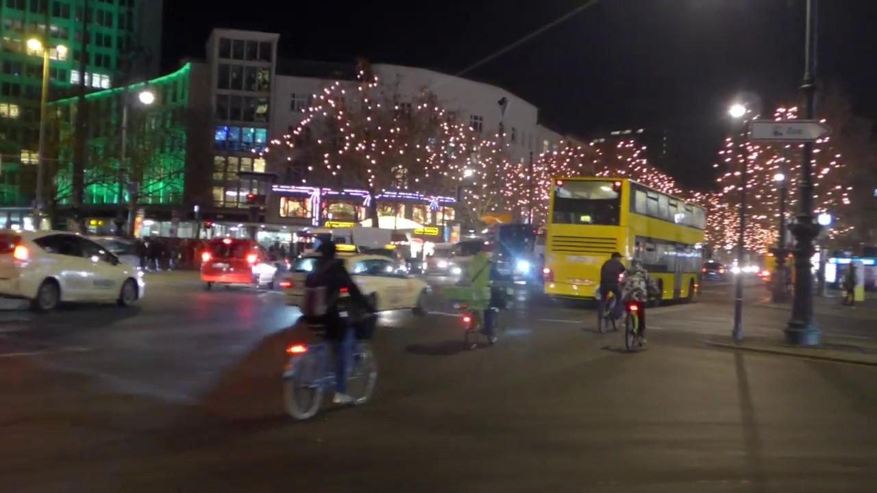 Weihnachtsbeleuchtung Kurfürstendamm.Berlin Kurfürstendamm Weihnachtsbeleuchtung 2018
