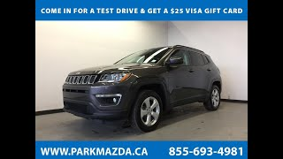 GRAY DK 2018 Jeep Compass  Review Sherwood Park Alberta - Park Mazda