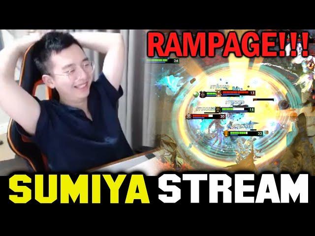 Rampage vs Wombo Combo | Sumiya Invoker Stream Moment #1653