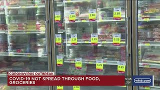 VIDEO: Fact or Fiction - Can the coronavirus spread through food?