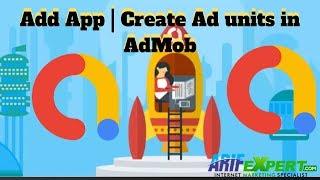 Toevoegen App | Maken van advertentieblokken in AdMob Urdu | Hindi