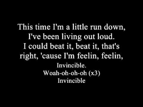 Hedley - Invincible (lyrics) High Quality