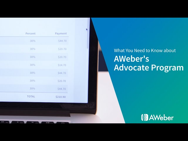 What You Need to Know about AWeber's Advocate Program