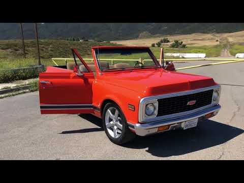 Chevy Blazer FOR SALE 951 348 5794 1971 K5 Southern California