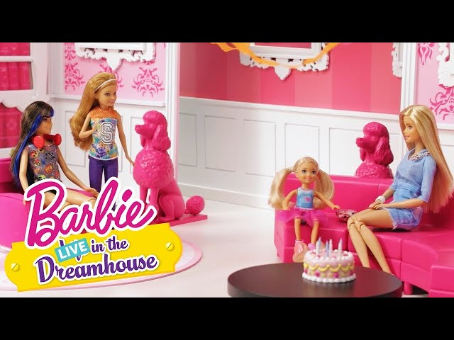 Fijne verjaardag, Chelsea | Barbie LIVE! In The Dreamhouse | Barbie