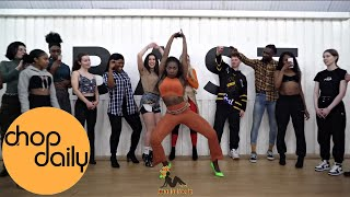 Darkoo - Juicy (Brown Skin like Eva) ft. Hardy Caprio  (Afro In Heels Dance Video) | Patience J