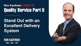 Ron Kaufman - Quality Service LIVE Part 5