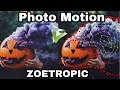 Photo motion tutorial || Zoetropic app || motion picture