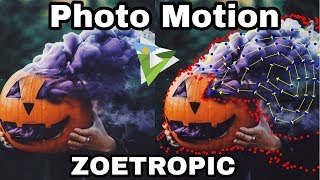 Photo motion tutorial    Zoetropic app    motion picture