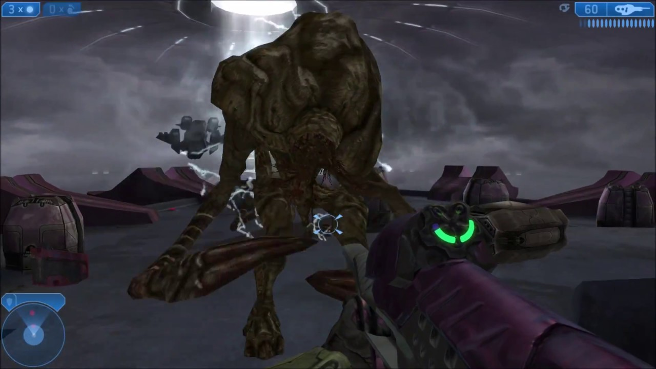 Halo 2 - The Flood Juggernaut (REVISITED) - YouTube