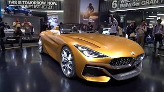 BMW Концепт Z4, новая M5 и X5 2 Литра. Франкфурт часть 1.