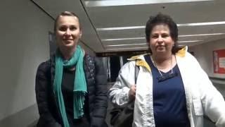 США 4148: Встречаем Александру из Иркутска в аэропорту Сан Франциско
