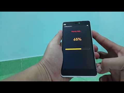 BacBa - Hard Reset Xiaomi MI4i